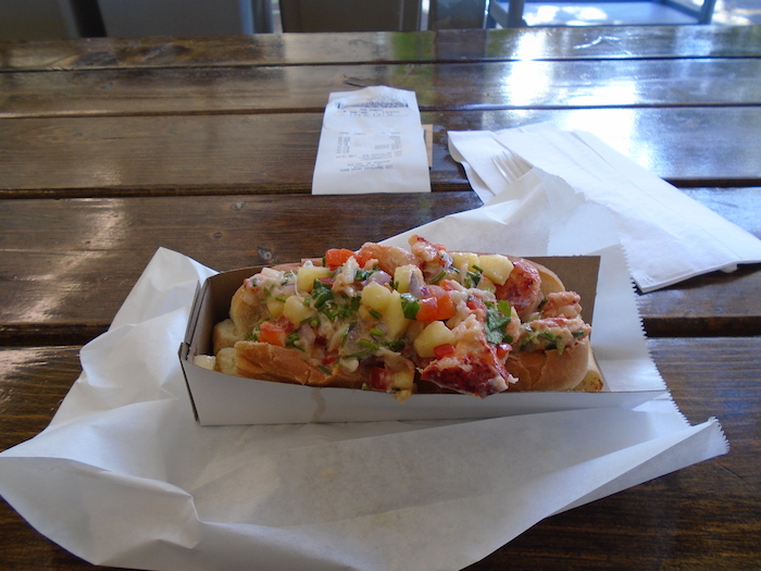 Sea Dog. Lobster Roll. Atwater Market. Photo Adam Shaw.