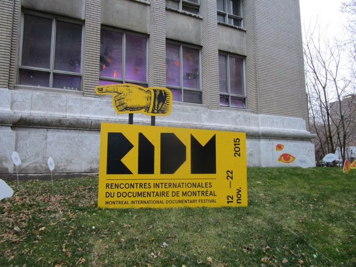 RIDM. Photo Rachel Levine