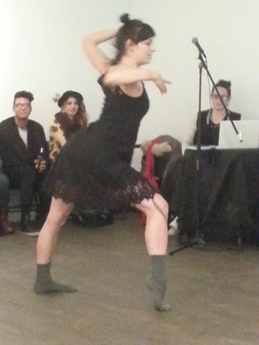 Brittney Canda Gerring. Bouge d'Ici Mash Up. Photo Rachel Levine