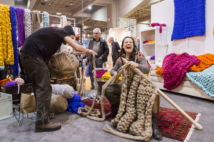 Atelier4920. Salon de Metiers d'art de Montreal. Photo Lily Huynh