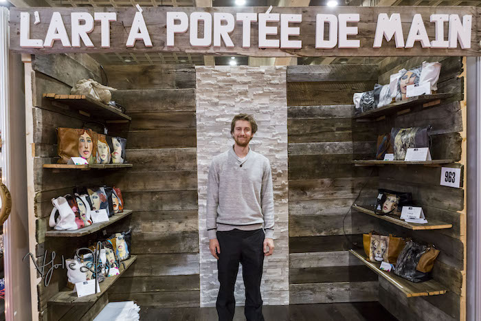 Lart A Portee de la main. Salon de Metiers d'art de Montreal. Photo Lily Huynh