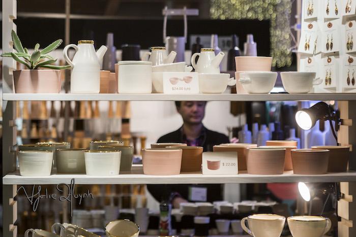 Marjorie Camire. Salon de Metiers d'art de Montreal. Photo Lily Huynh