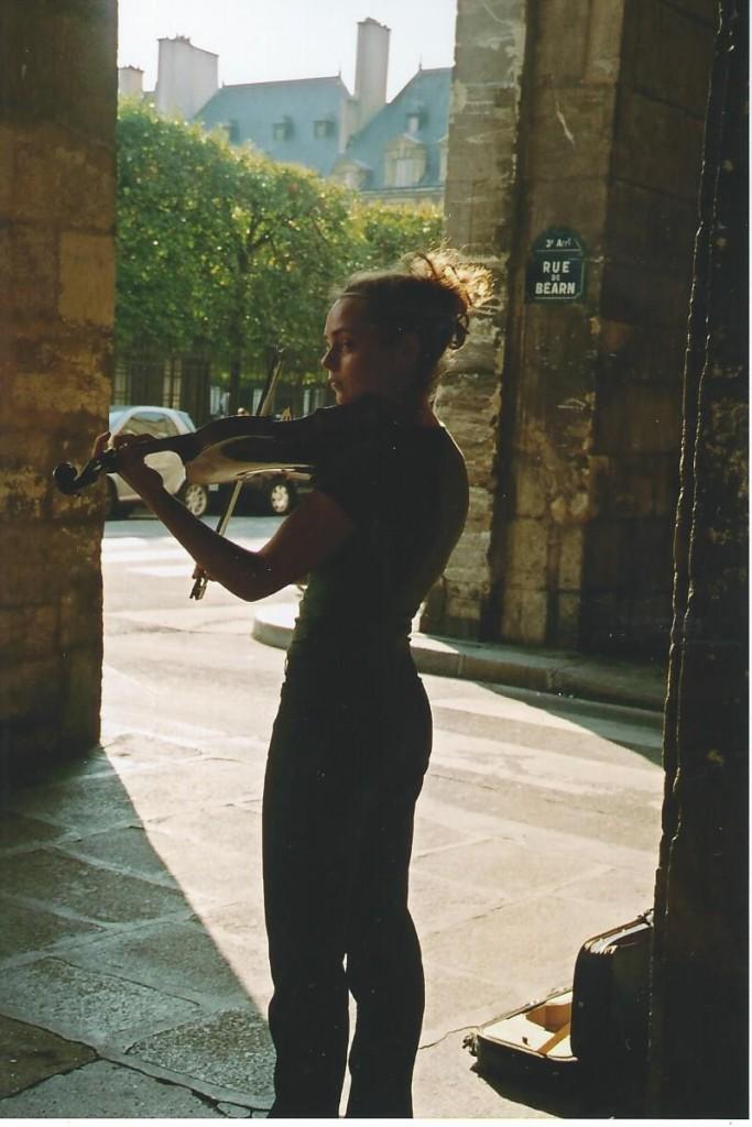 Nisha Coleman. Place des Vosges.