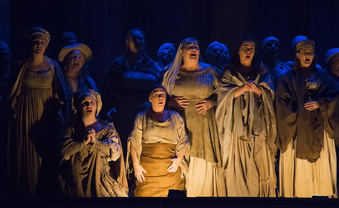 Otello. Place des Arts Wilfrid Pelletier. Photo Laura Dumutriu