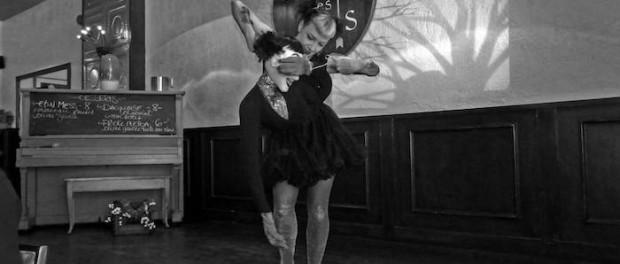 Jessica Rae and puppet. Photo by Dan Davis