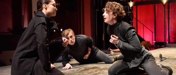 Hamlet. National Theatre School 2016. Photo Maxime Cote.