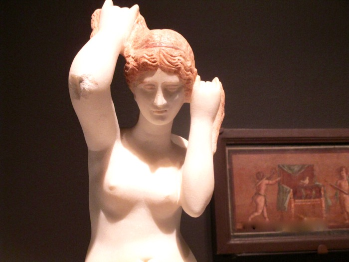 Pompeii. Museum of Fine Arts. Photo Rachel Levine