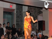 Fashion show. Je t'aime en chocolat. 2016. Marché Bonsecours. Photo Jennifer Guillet