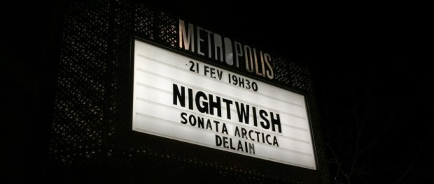 Nightwish at Metropolis Feb 21st 2016