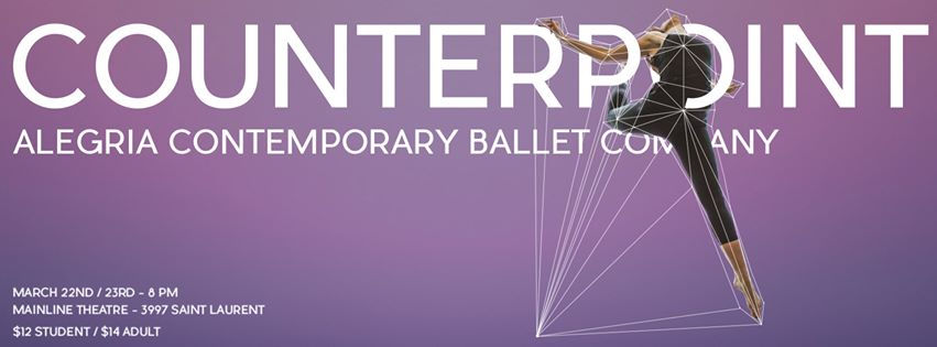Alegria Ballet Counterpoint