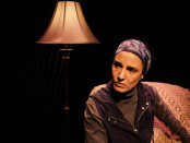 "Deena Aziz stars in the play ""Another Home Invasion"" at the M.A.I. Credit: Tableau D'Hôte Theatre"