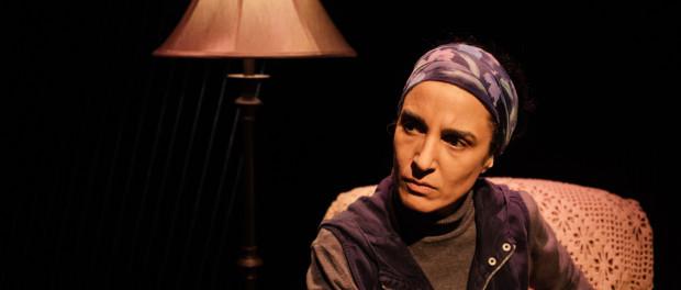 Deena Aziz stars in the play