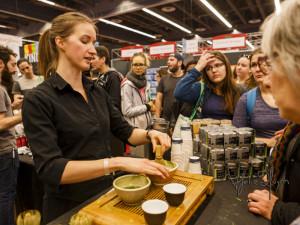 Camilla Sinensis. Matcha Making. Tea. Expo Sante et Manger. Photo Lily Huynh