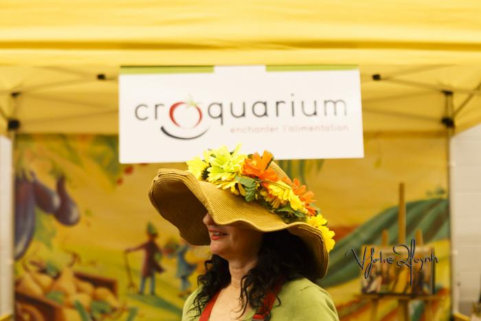 Croquarium. Expo Santé et Manger. PHoto Lily Huynh