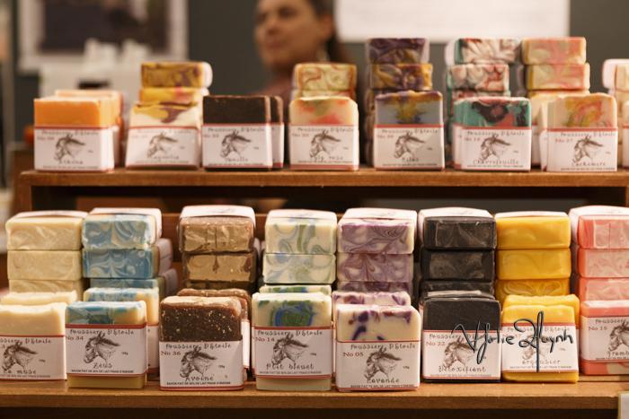 Poussiere Detoile. Soap. Expo Sante et Manger. Photo Lily Huynh