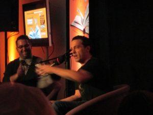 JOseph Boyden at BLue Metropolis. Photo Rachel Levine