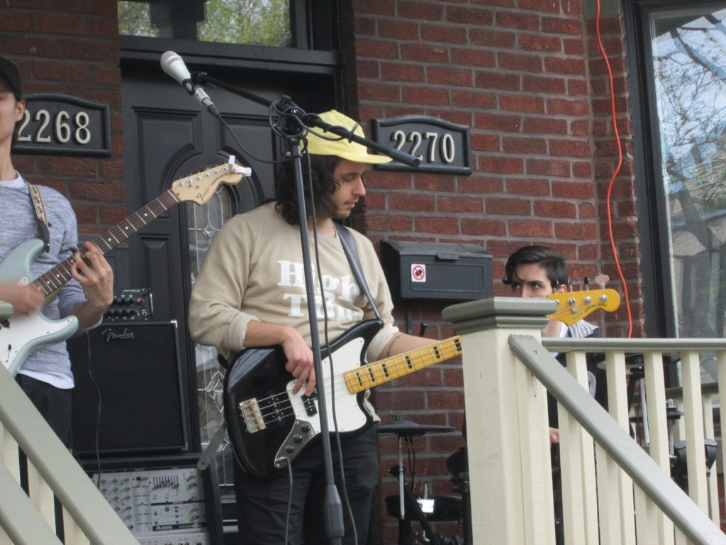Porch Fest 2016. Photo Rachel Levine