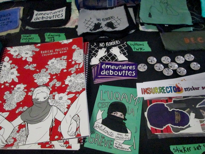 Salon du Livre Anarchist de Montreal. Anarchist Bookfair. 2016. Photo Rachel Levine