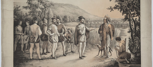 Jacques Cartier and the First Peoples.