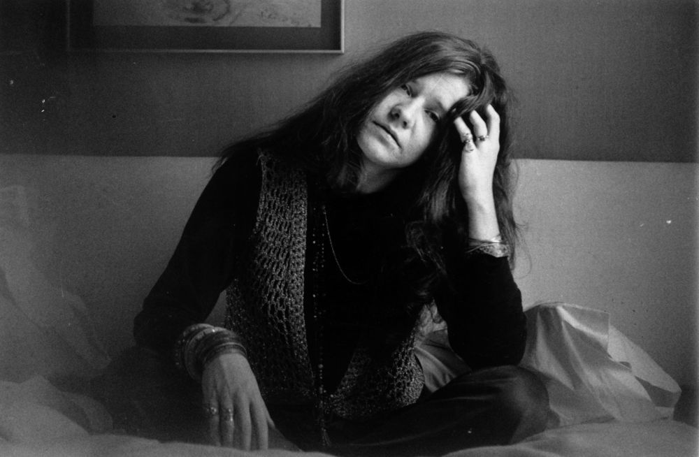 Janis Joplin on 5th April 1969. (Photo by Evening Standard/Getty Images).