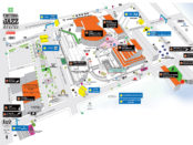 Jazz Fest Map