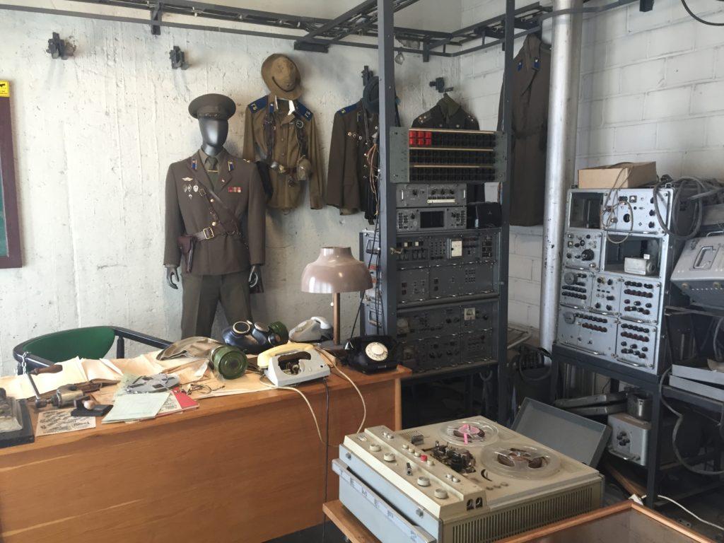 Radio Room. KGB Museum.