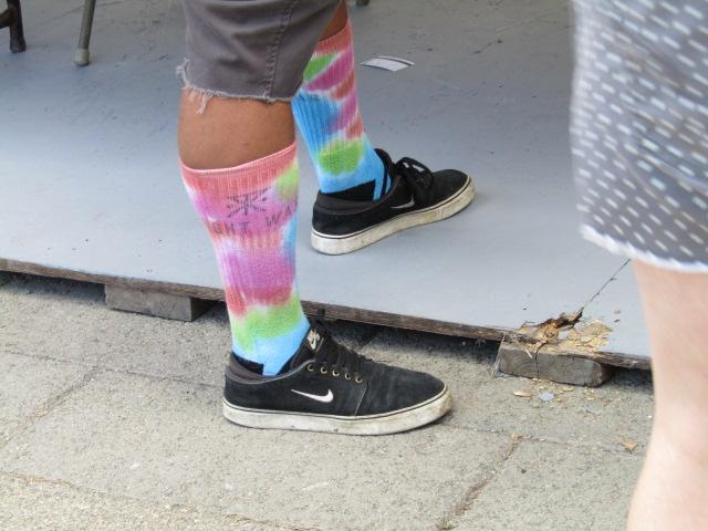Osheaga. Socks.