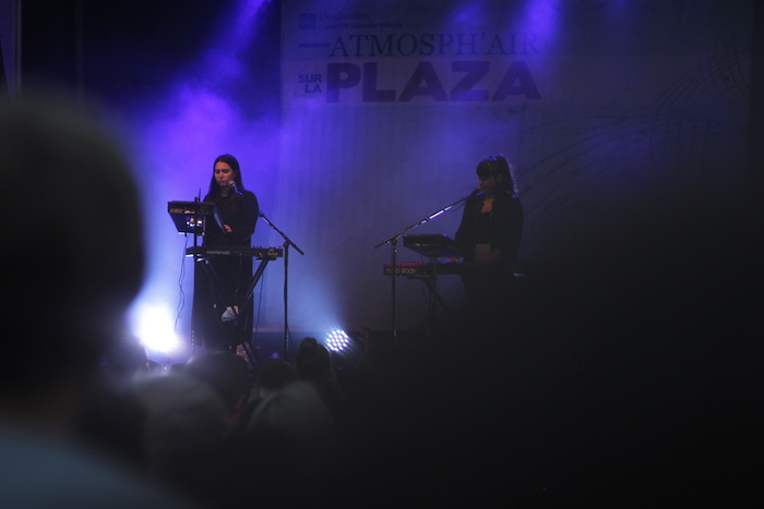 Atmosph'Air Festival. Plaza St Hubert. Photo Jean-Marc M'Bahia