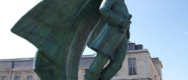 Statue of Jean Talon in Châlons-en-Champagne, France. Photo credit: Garitan/Wikimedia Commons.