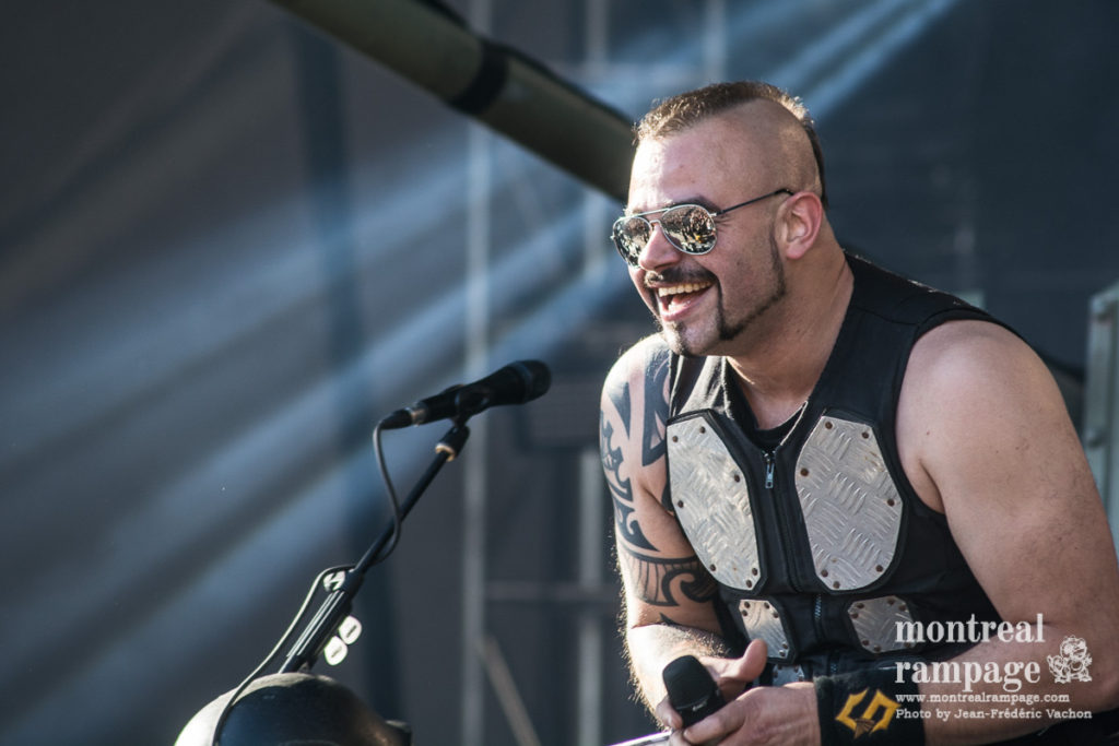 Sabaton  (Photo by Jean-Frederic Vachon)
