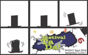 Ta Da! Festival poster