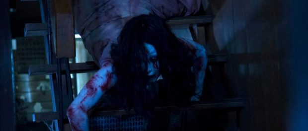 Sadako vs. Kayako.