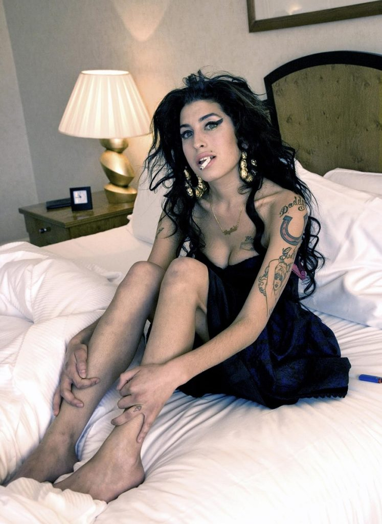 Amy Winehouse, London, 2007.