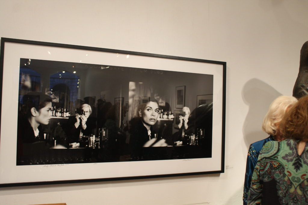 Harry Benson vernissage. Photo Sarah Bemri