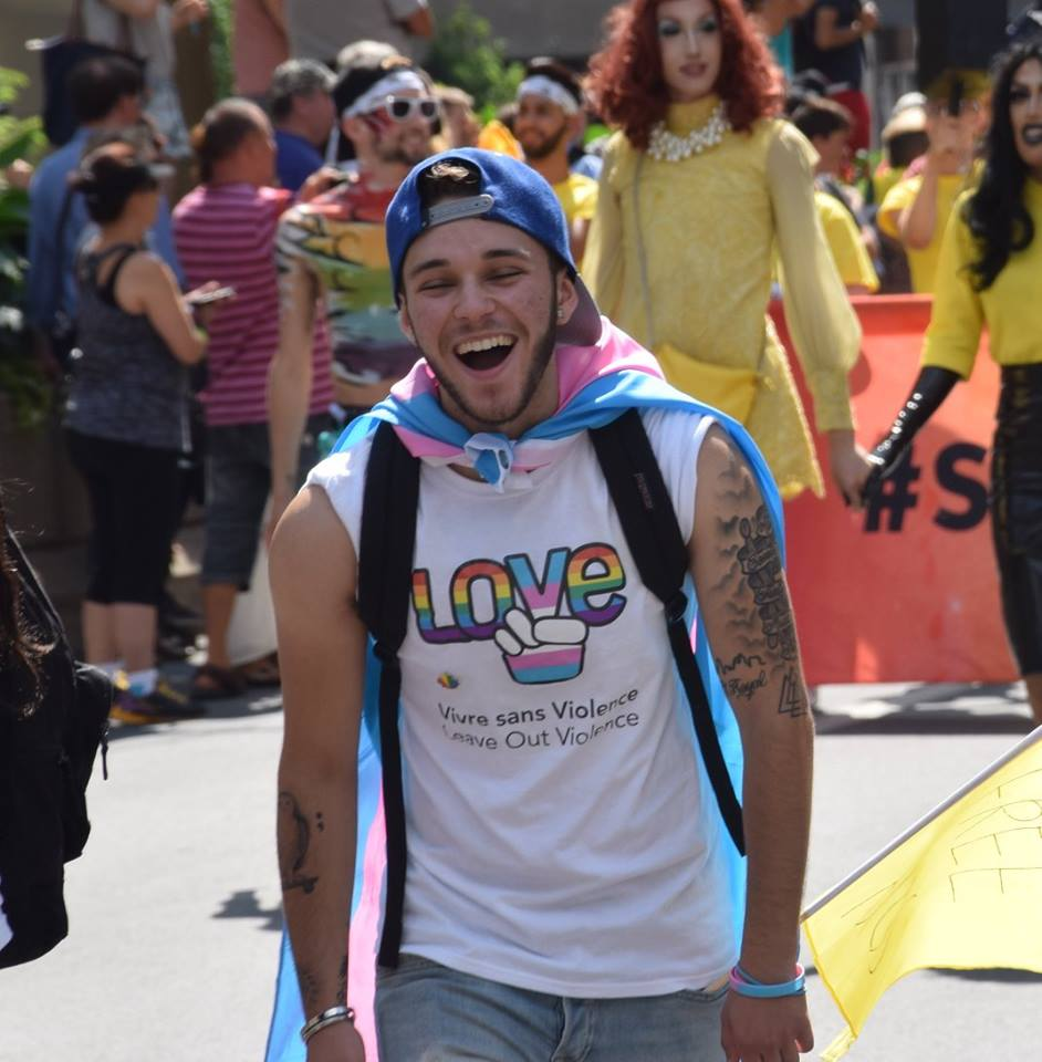 Pride Parade Montreal 2017. Photo Angelique Koumouzelis