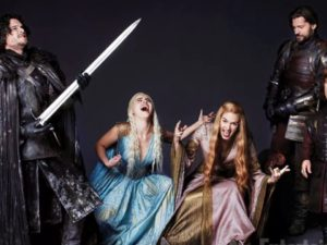"""The """"Game of Thrones"""" television series cast, photo courtesy of Entertainment Weekly."""