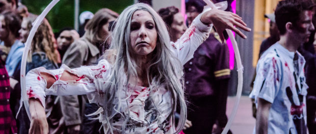 Montreal Zombie Walk (October 28th 2017) Photo by Jean-Frédéric Vachon