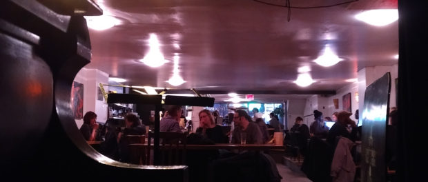 Resonance Cafe. Piano. Photo Conor Coady.