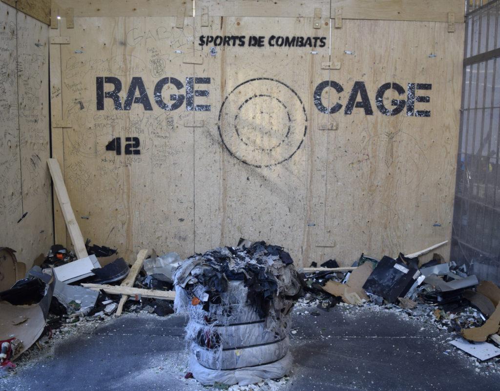Rage Cage. Sports de Combats. Photo Angelique Koumouzelis