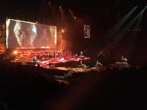 Bell Centre. Game of Thrones Concert Experience. Percussion. Photo Rachel Levine